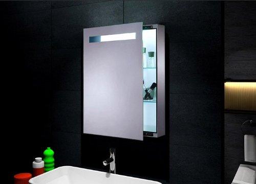 krugg video for led lighted sliding mirror medicine cabinet 18u2033 x 30u2033