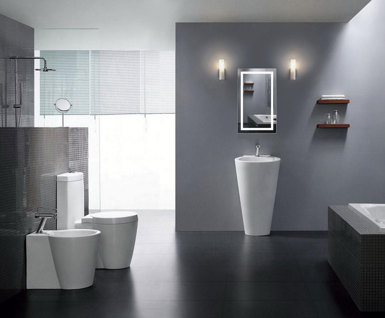 Icon18 Led Vanity Mirror 18 X30 Bathroom Lighted Mirror